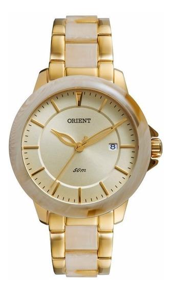 Relógio Orient Feminino Ftss1083 C1ki Dourado - Nota Fiscal