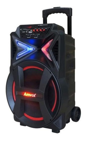 Caixa De Som Amplificada Amvox Aca-292 New X 290w Aux/usb/sd