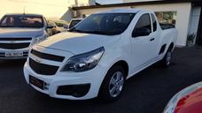 Chevrolet Montana Ls 2014 Branca Flex