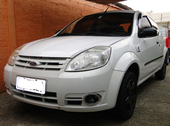 Ford Ka 2011 1.0 Flex Branco 123000 Km