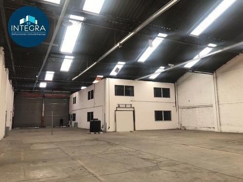 Bodega En Renta, Urbina, Parque Industrial Naucalpan.