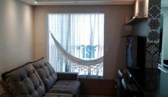 Apartamento Com 3 Dormitórios À Venda, 65 M² Por R$ 410.000 - Jardim Marilu - Carapicuíba/sp - Ap24566. - Ap24566