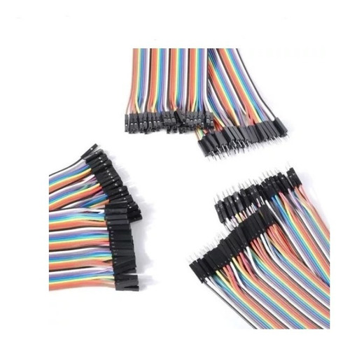 Cables Jumpers Arduino 10cm (40 Cables) M-m, H-h, H-m