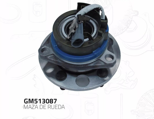 Maza Balero Rueda Delantera Oldsmobile Silhouette 1994-1996