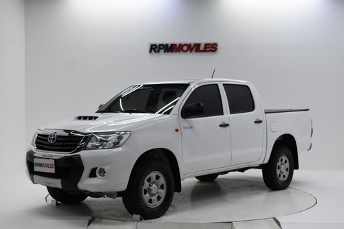 Toyota Hilux 2.5 4x2 Cabina Doble Dx 2014 Rpm Moviles
