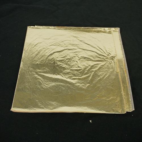 100 Folhas De Ouro 16x16 Importada F R M Soprepostas