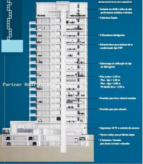 Laje Corporativa Para Locação Em São Paulo, Centro, 4 Banheiros, 4 Vagas - 08j_2-246151