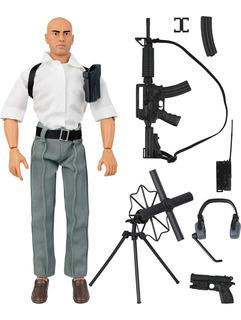Figura De Acción Servicio Secreto Agente Espía