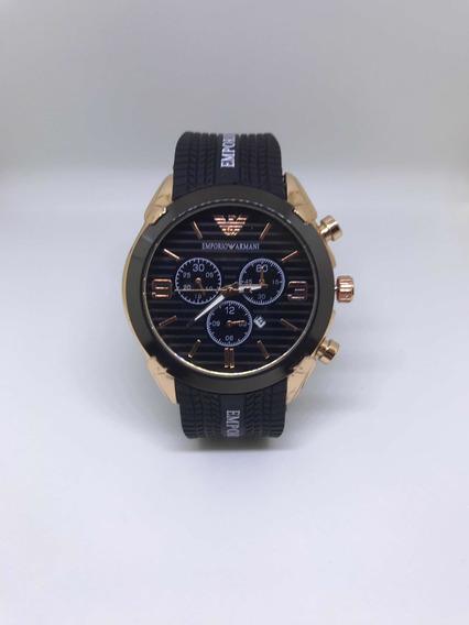 Relógio De Pulso Emporio Armani (preto)