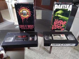 Videos De Rock Y Metal En Películas Vhs Originales
