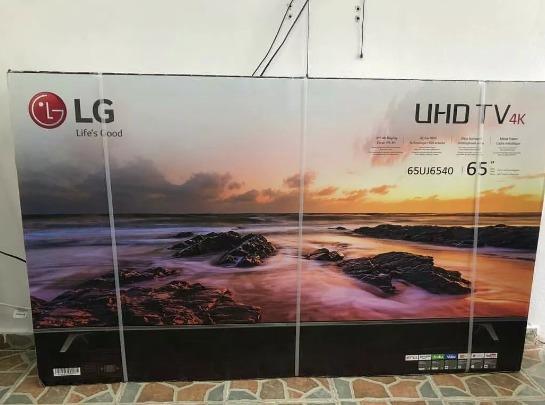Televisión Lg Uhd 4k 65 Pulgadas