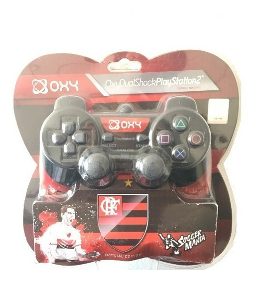 Controle Ps2 - Flamengo Original