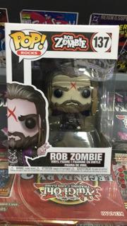 Funko Pop! Rocks Rob Zombie - Rob Zombie #137