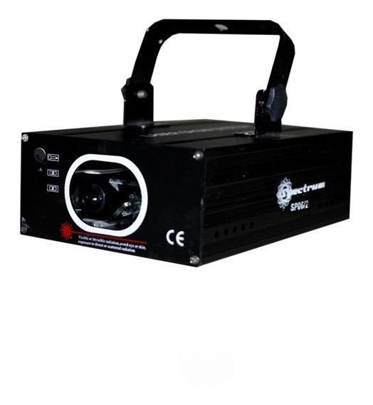 Canhão Laser Sp062 12 Canais Dmx Azul Spectrum