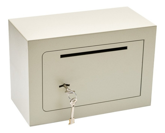 Caja Fuerte Seguridad Con Buzon Reforzada 30 X 20 X 15 Cm