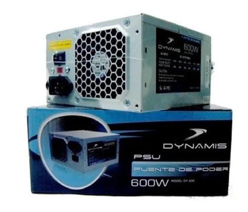 Fuente De Poder De 600w Dynamis