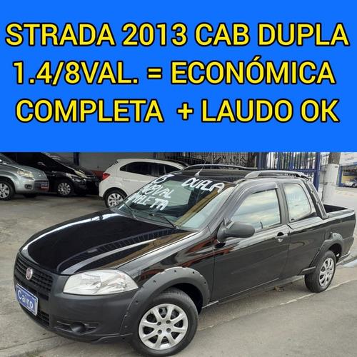 Fiat Strada 2013 Cabine Dupla Cd 1.4 Completa Ar Condicionad