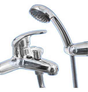 Griferia Monocomando Bañera Para Baño Cromado K