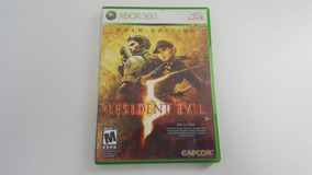 Jogo Resident Evil 5 - Xbox 360 - Original