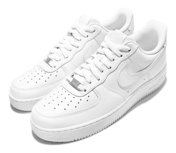 Tenis Nike Air Force 1 Triple White Originales En Caja