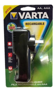 Cargador De Pilas Recargables Varta Vps61 Bateria Aa / Aaa