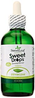 Sweetleaf Sweet Drops Liquid Stevia Sweetener, Steviaclear,