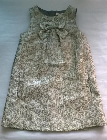 Vestido De Fiesta Para Niña Talla 7-8 (usado)