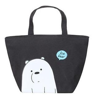 Bolsa Térmica Marmiteira Polar Miniso - Ursos Sem Curso