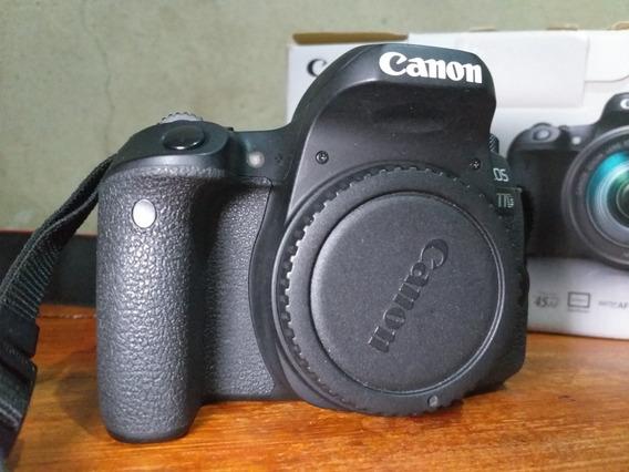 Câmera Canon 77 D + Lente 24 Mm 2.8