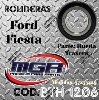 1206 - Rolinera Trasera Ford Fiesta