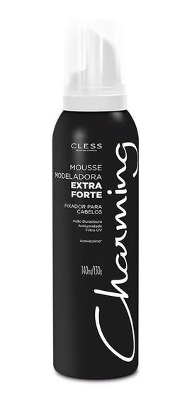 Mousse Modeladora Charming Extra Forte 140ml