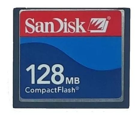 Cartão De Memória Compact Flash (cf) Sandisk 128mb