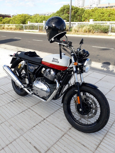 Royal Enfield Interceptor 650 Nueva Blanca Baker Express