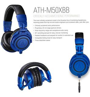 Audífono Audiotechnica Ath-m5050xbb Nuevo Financio