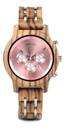 Relógio Feminino Importado Bobo Bird Wp18