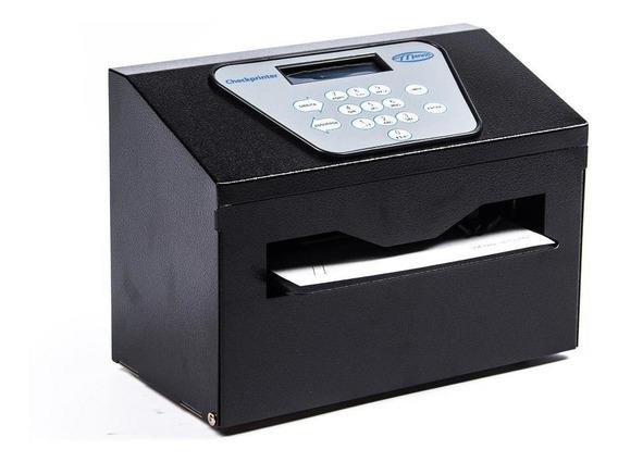 Impressora De Cheques Checkprinter Preta Menno Frete Grátis