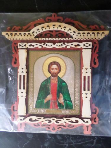 Imagen 1 de 1 de  Cuadro Icono Santos Cristianos Matrona Cris Ortodoxo Templo