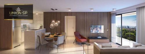 Apartamento Com 2 Dormitórios À Venda, 64 M² Por R$ 721.525,00 - Brooklin - São Paulo/sp - Ap48868