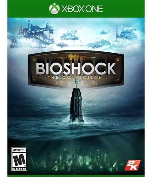 Bioshock Collection Xbox One Com 3 Jogos Midia Fisica Novo