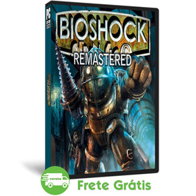 Bioshock Pc Remastered Mídia Física Ação Fps ( Dvd )