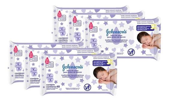 Lenços Umedecidos Johnsons Baby Hora Do Sono 288 Un