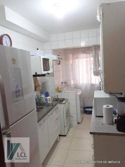 Apartamento Com 2 Dormitórios À Venda, 56 M² Por R$ 249.000 - Chácara Agrindus - Taboão Da Serra/sp - Ap0074
