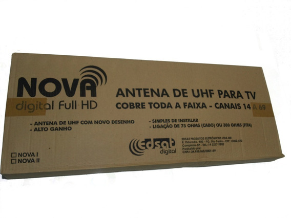 Antena Digital Nova 2 Edsat Digital Lb