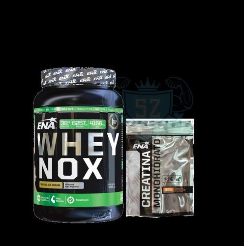 Ena Whey Nox Proteína X1kg+arginina+creatina X300g