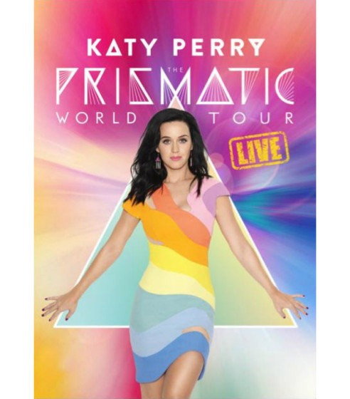Dvd Perry Katy, The Prismatic World Tour Live