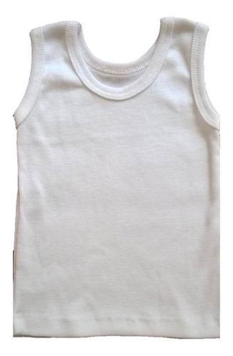 Franelillas Blancas Camisetas Bebe Recien Nacido Detal Mayor