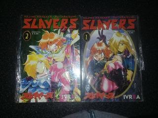 Mangas Slayer Lote De Colección Completo