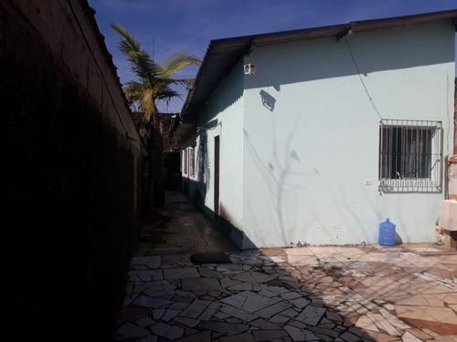 Casa Com Dois Dormitórios Na Praia De Itanhaém