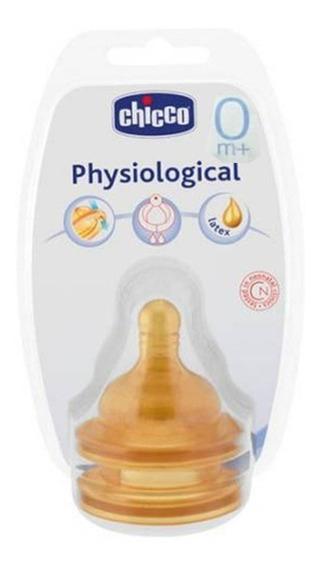 Tetina Physiological Latex X 2 0m+ Chicco - Aj Hogar