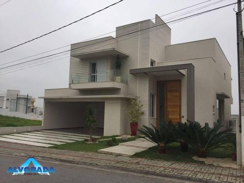 Imagem 1 de 30 de Casa Com 4 Dormitórios À Venda, 489 M² Por R$ 2.200.000,00 - Condomínio Residencial Jaguary - São José Dos Campos/sp - Ca1765